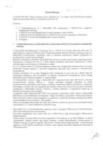 Sáhó Tibor előterjesztés 2014.01.07.
