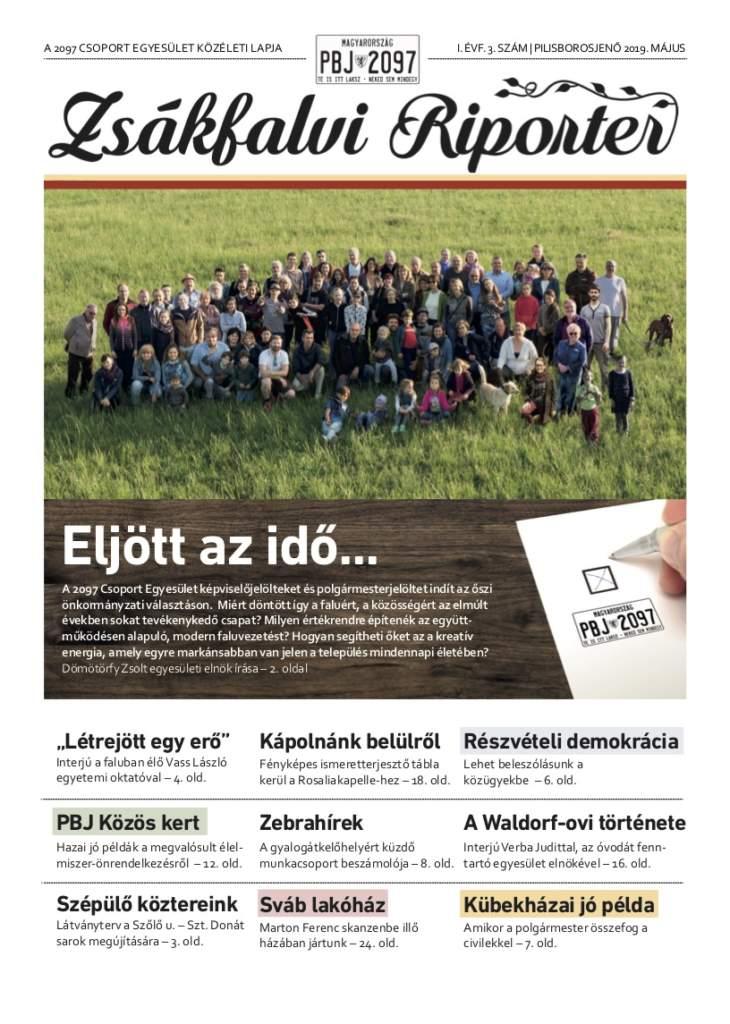 Zsákfalvi Riporter 2019/2