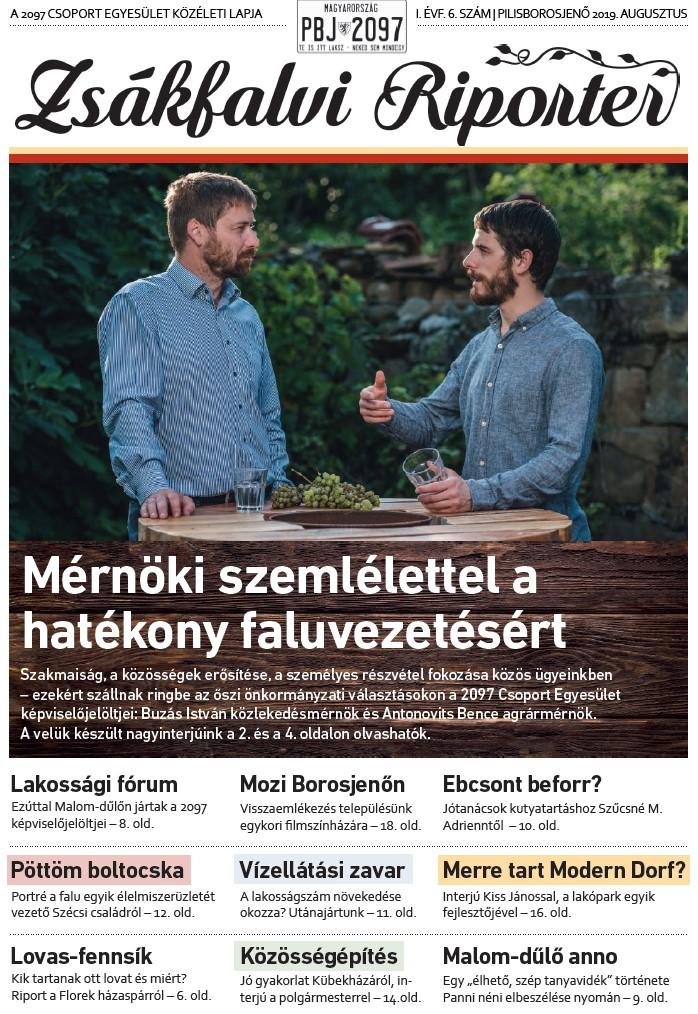 Zsákfalvi Riporter 2019/6