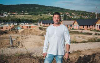 Kiss János, a Modern Dorf – Pilis Lakókert egyik fejlesztője