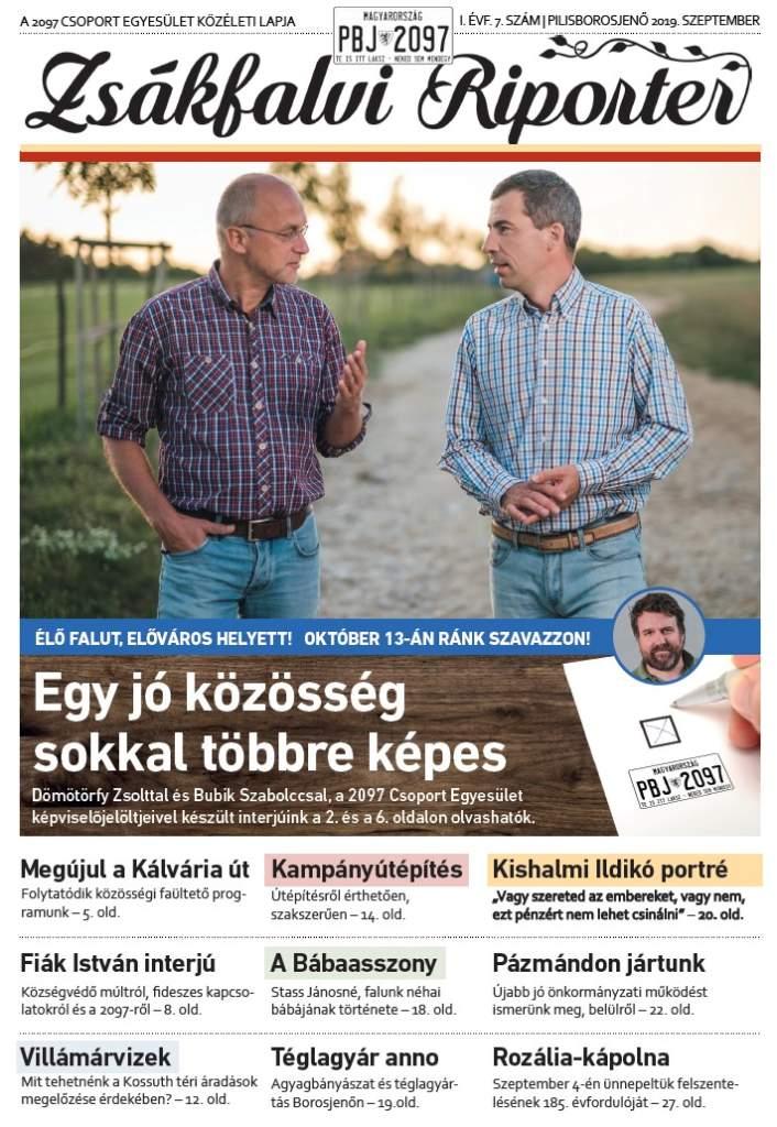 Zsákfalvi Riporter 2019/7
