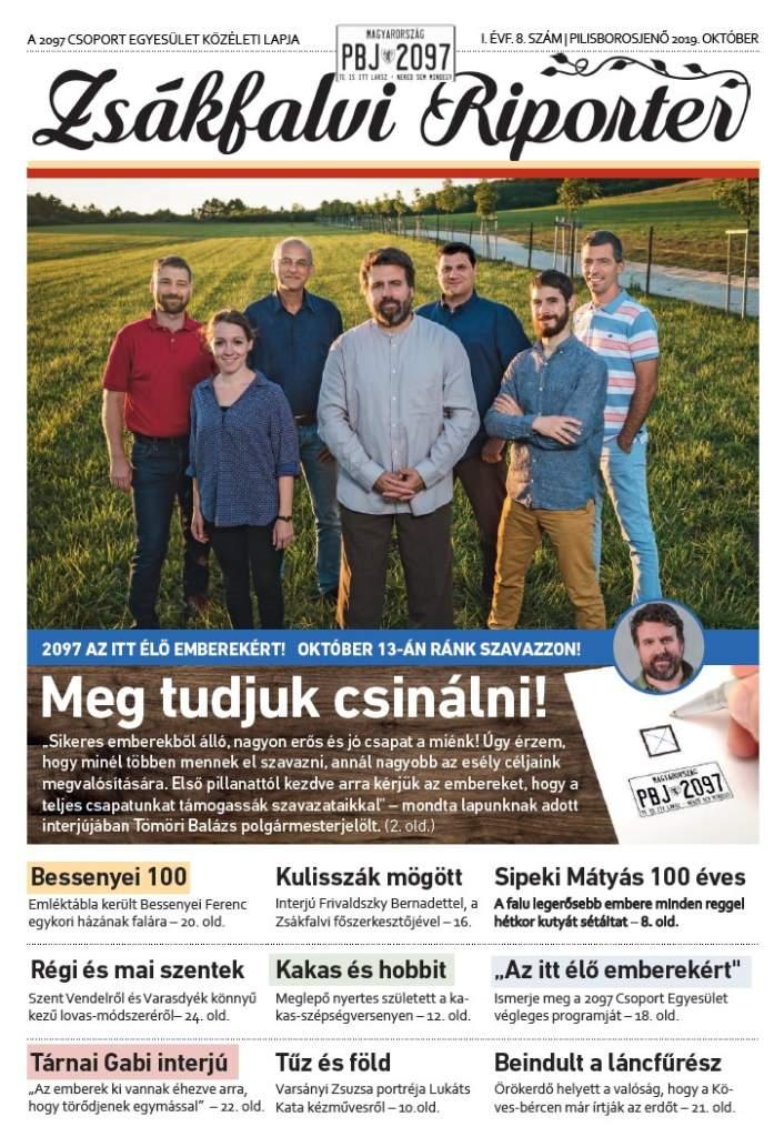 Zsákfalvi Riporter 2019/8