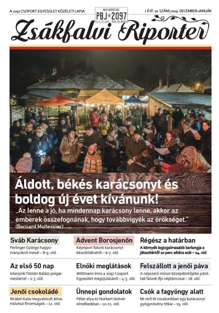 Zsákfalvi Riporter 2019/10