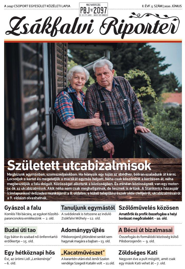 Zsákfalvi Riporter 2020/05