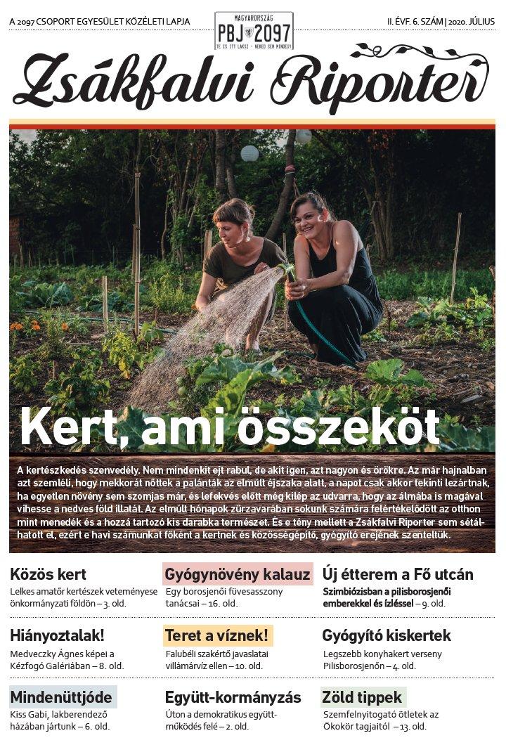 Zsákfalvi Riporter 2020/06