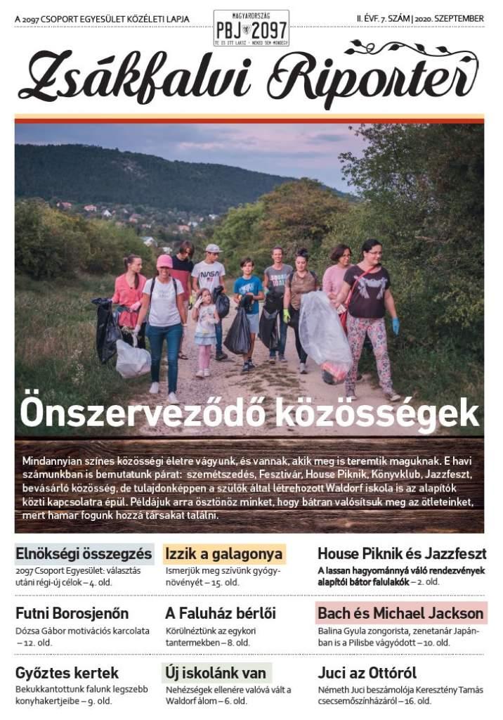 Zsákfalvi Riporter 2020/07
