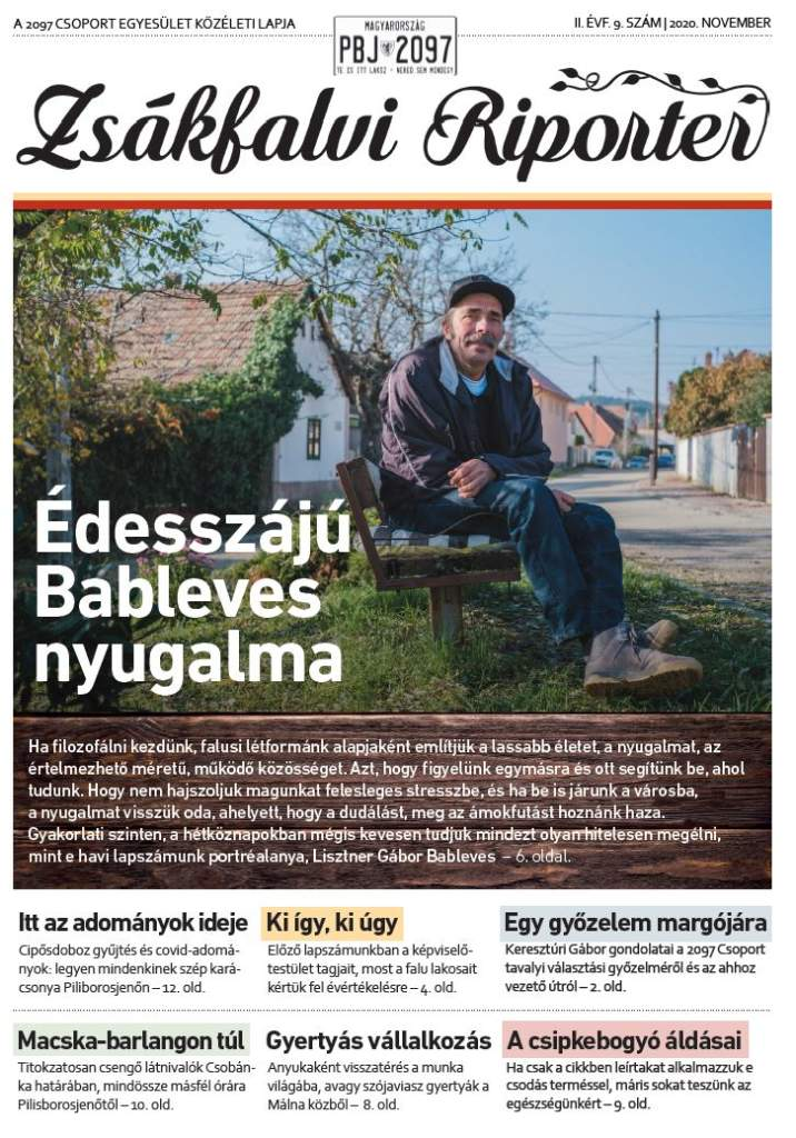 Zsákfalvi Riporter 2020/09